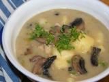 Selský kotlík se žampiony a kuřecím masem recept