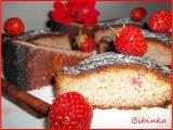 Jahodová bábovka s čokoládou recept