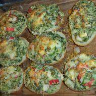 Pečené brambory plněné špenátem recept