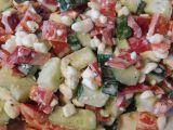 Cottage s kapií a okurkou recept