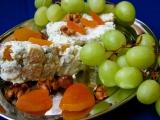 Sýrový srnčí hřbet s ořechy a sušenými meruňkami recept ...