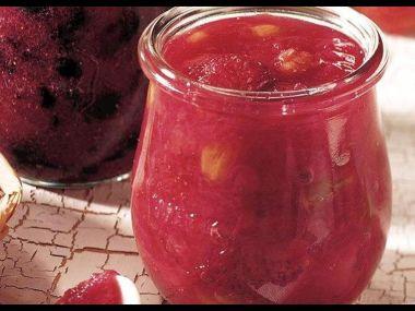 Rebarborovo-jablečná marmeláda