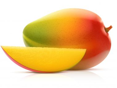 Mangový salát s medem
