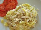 Těstoviny se zelím a se šmakounem recept