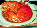Krabi na způsob Padang kuchyně  kepiting Padang recept ...