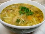 Selská polévka s nudlemi recept