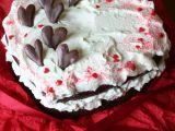Valentýnský red velvet cake recept