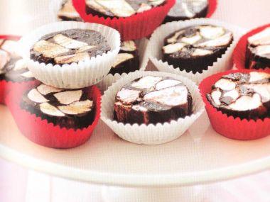 Čokoládové cookies s bonbony marshmallows