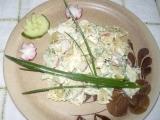 Jarní těstovinový salát recept