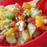 Zeleninový salát s balkánským sýrem recept