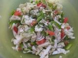 Salát z čínskeho zelí recept