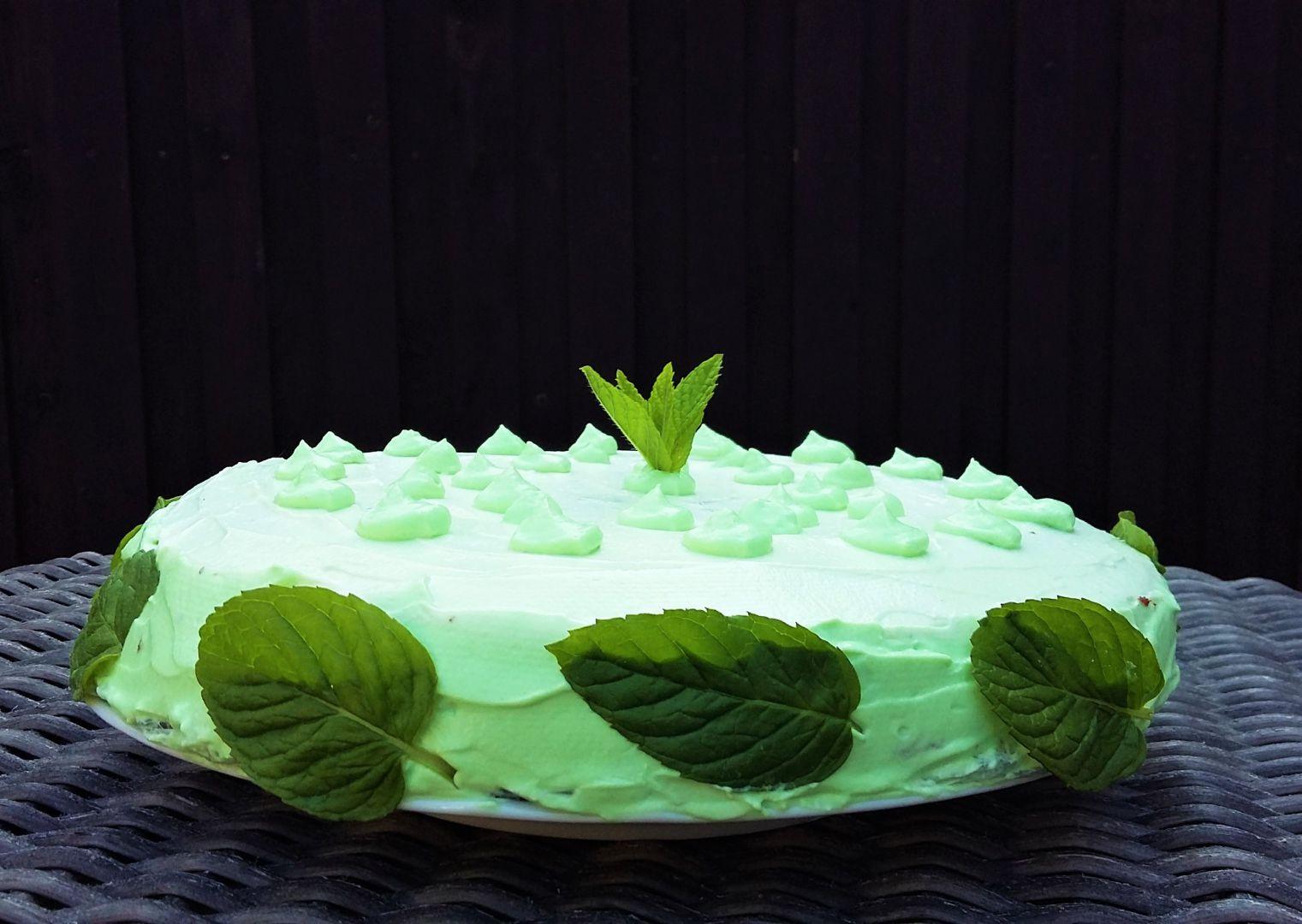 Mátový dort recept