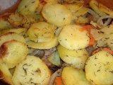 Hot Pot (Zapečené brambory) recept