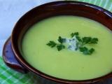 Cuketová polévka s Nivou recept