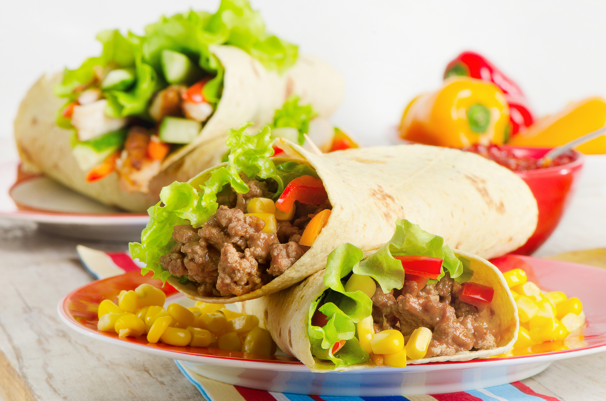Tortilla  mexická placka recept
