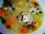 Uzené knedlíčky v uzené polévce recept