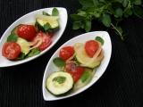 Dušené cukety s cibulí a rajčaty recept