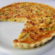 Sýrový koláč se šunkou recept
