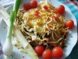 Špagety zapečené nejen s chřestem recept