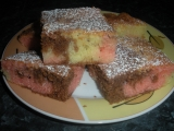 Pestrý koláč recept