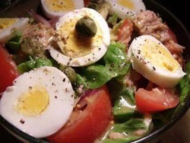 Saláty s jednoduchou zálivkou