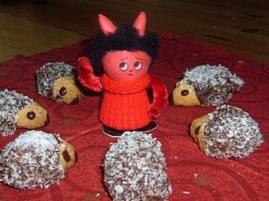 Vánoční ořechoví ježci nejen na vánoce