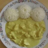 Kuřecí na kari recept