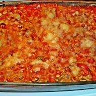 Zapékané rajčatové špagety se sýrem recept