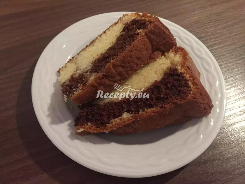 Mramorový dort recept  moučníky