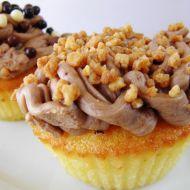 Cupcakes s griliášem a čokoládovým krémem recept