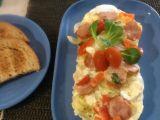 Selská omeleta z mikrovlnky recept