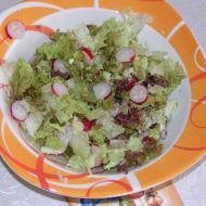 Hlávkový salát s ředkvičkami recept