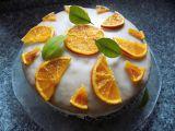 Sluníčkový pomerančový dort recept