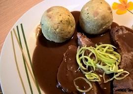 Bavorská vepřová pečeně s pivní omáčkou recept