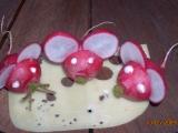 Myšky z ředkvičky recept