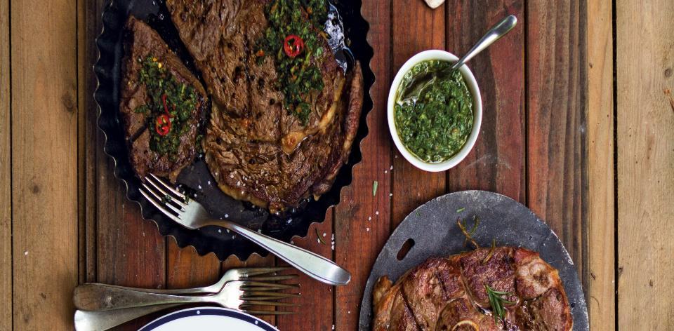 Marinované steaky
