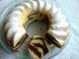 Dvoubarevná majonézová bábovka recept