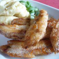 Rybí filety s bramborovou kaší recept