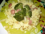 Brokolice s párkem recept