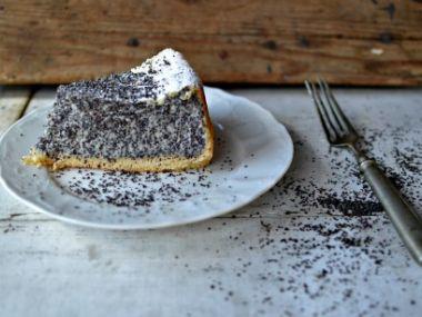Tvarohovo makový koláč