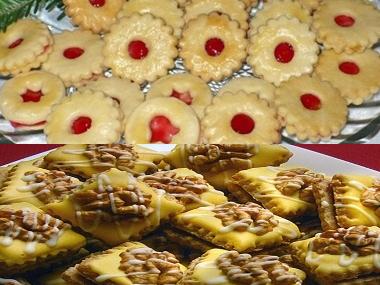 Žloutkové cukroví naší babi