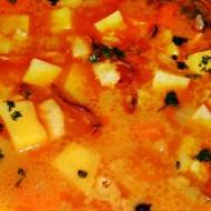 Bramborová polévka s liškami a kořenovou zeleninou recept ...