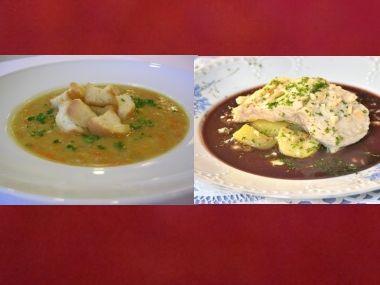 Sváteční oběd 21  Rybí polévka a Kapr