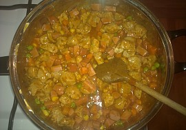 Sojovo  salámová směs ,,ADŽIKA´´ na bramborák recept ...