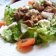 Vepřové kostky na čerstvé zelenině recept
