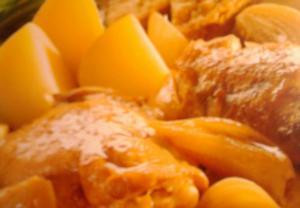 Dušené kuře po anglicku