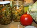 Zelenina na zimu recept