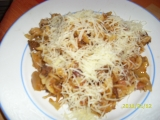 Těstoviny s lečem recept