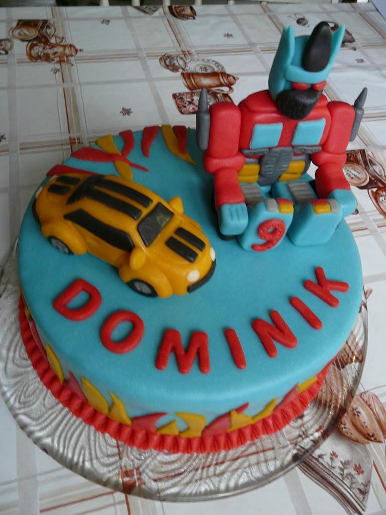 Dort Transformers pro Domču recept