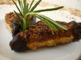 Křupavé ořechové trojúhelníčky recept